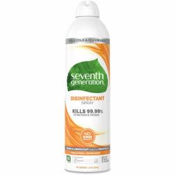 Seventh Generation Disinfectant Cleaner - Spray - 13.9 fl oz (0.4 quart) - Fresh Citrus & Thyme Scent - 1 Each - Clear
