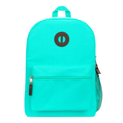 "Office Depot® Brand Basic Backpack With 16"" Laptop Pocket, Dark Mint"
