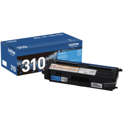 Brother® TN-310C Cyan Toner Cartridge