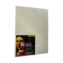 """Ampersand Artist Panel Canvas Texture Flat Profile, 11"""" x 14"""", 3/8"""", Pack Of 2"""