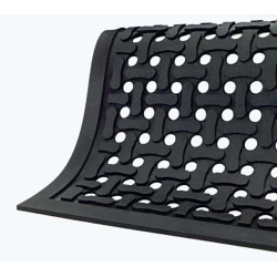 Comfort Flow Mat, 2' x 3', Black