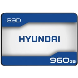"HYUNDAI 960GB INTERNAL SSD 2.5"" SATA 3D TLC - Hyundai 960GB Internal Solid State Drive 2.5""- SATA (SATA/600) - 550/480 MB/s"
