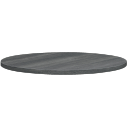 "HON® Between 36"" Round Table Top, Gray"