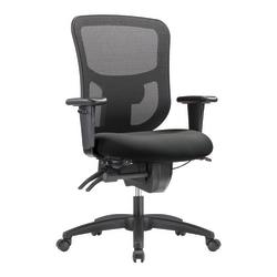 WorkPro® 9500XL Series Ergonomic Mesh/Premium Fabric Mid-Back Big & Tall Chair, Black/Gray