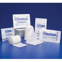 "Covidien KERLIX™ Gauze Bandage Rolls, Non-Sterile, Large, 4 1/2"" x 4.1 Yd., 6-Ply, Dispenser Pack Of 12"