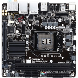 Gigabyte Ultra Durable GA-B150N-GSM Desktop Motherboard - Intel Chipset - Socket H4 LGA-1151 - Mini ITX - 32 GB DDR4 SDRAM Maximum RAM - DIMM, UDIMM - 2 x Memory Slots - Gigabit Ethernet - HDMI - 6 x SATA Interfaces
