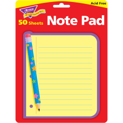 "Trend® Note Pad, 5"" x 5"", Note Paper, Unruled, 25 Sheets"