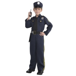 Amscan Police Officer Boys' Halloween Costume, Small, Blue