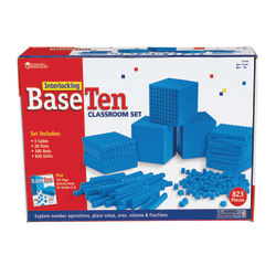 Learning Resources® Interlocking Base 10 Class Set, Grades 1 - 9