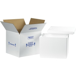 "Office Depot® Brand Insulated Corrugated Carton, 13 3/4"" x 11 3/4"" x 11 7/8"""