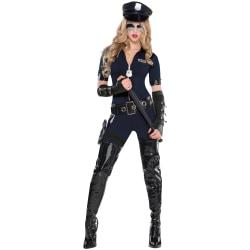 Amscan Stop Traffic Women's Halloween Costume, Large, Black