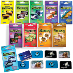 Stages Learning Materials Photographic Memory Matching Games, Set Of 10 Games