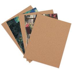 """Office Depot® Brand Chipboard Pads, Kraft, 8 1/2"""" x 11"""", Pack Of 960"""