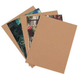 10 Count 3 12 x 2 Chipboard Scalloped Tags