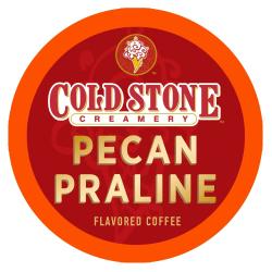 Cold Stone Creamery Pecan Praline Single-Serve Coffee K-Cup®, 0.35 Oz, Carton Of 24