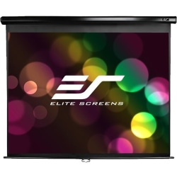 Elite Screens M80UWH Manual Pull Down Projector Screen