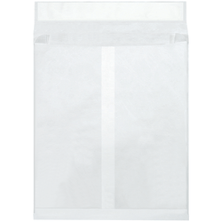 """Tyvek® Envelopes, Expandable, 12"""" x 16"""" x 2"""", End Opening, White, Pack Of 100"""