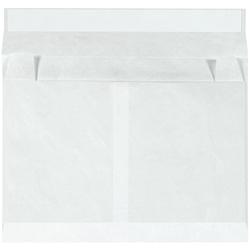 "Tyvek® Envelopes, Expandable, 12"" x 16"" x 4"", Side Opening, White, Case Of 50"
