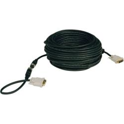 Tripp Lite DVI Single Link Digital TMDS Monitor Easy Pull Cable - (DVI-D M/M) 100-ft.