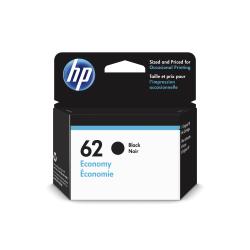 HP 62 Economy Black Ink Cartridge