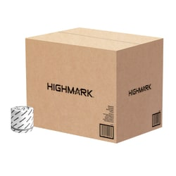 Highmark® 2-Ply Toilet Paper, 100% Recycled, White, 550 Sheets Per Roll, Case Of 80 Rolls