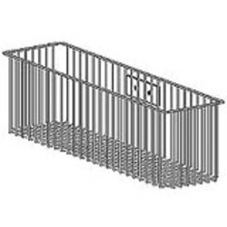 Gray Ergotron Wire Storage Basket