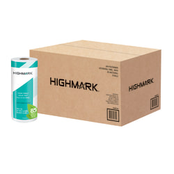 Highmark® 2-Ply Paper Towels, 100% Recycled, 85 Sheets Per Roll, Pack Of 15 Rolls
