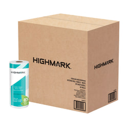 Highmark® 2-Ply Paper Towels, 100% Recycled, 85 Sheets Per Roll, Pack Of 30 Rolls