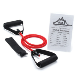 Black Mountain Products Single Resistance Band, 25-30 Lb, Red