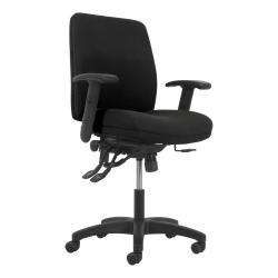 HON® Network Mid-Back Task Chair, Black