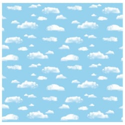 "Pacon® Fadeless® Designs Bulletin Board Paper, 48"" x 50', Clouds"