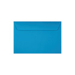 """LUX Booklet Envelopes With Moisture Closure, #6 1/2, 6"""" x 9"""", Pool, Pack Of 500"""