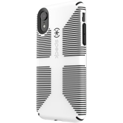 Speck CandyShell Grip iPhone XR Case - For Apple iPhone XR Smartphone - White, Black