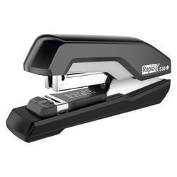 Rapid® S50 High-Capacity Desk Stapler, Black/Red