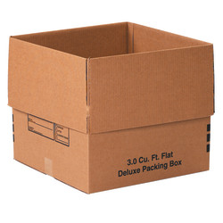 """Office Depot® Brand Deluxe Moving & Storage Boxes, 18"""" x 18"""" x 16"""", Kraft, Case Of 20"""