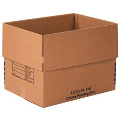 "Office Depot® Brand Deluxe Moving Boxes, 24"" x 18"" x 18"", Kraft, Pack Of 10"