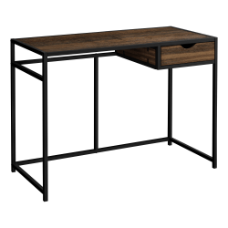 """Monarch Specialties Riva 43""""W Computer Desk, Brown"""