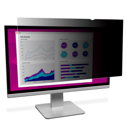 "3M™ High-Clarity Privacy Filter, For 23"" Widescreen Monitors (16:9), Black, Reduces Blue Light, HC230W9B"