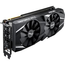 Asus Dual DUAL-RTX2080-O8G GeForce RTX 2080 Graphic Card - 8 GB GDDR6 - 256 bit Bus Width - DisplayPort - HDMI