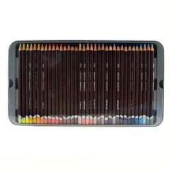Derwent Coloursoft Pencil Set, Assorted Colors, Set Of 72 Pencils