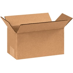 "Office Depot® Brand Corrugated Cartons, 8"" x 4"" x 4"", Kraft, Pack Of 25"