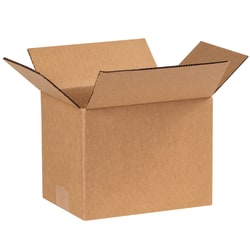 """Office Depot® Brand Corrugated Boxes, 8""""L x 6""""W x 6""""H, Kraft, Pack Of 25"""