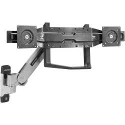 """Ergotron Mounting Bracket for Flat Panel Display - Black - 22"""" to 26"""" Screen Support - 36 lb Load Capacity"""