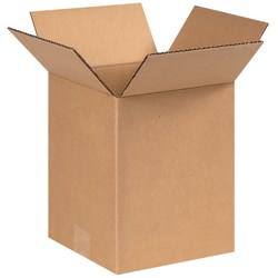 "Office Depot® Brand Corrugated Cartons, 8"" x 8"" x 10"", Kraft, Pack Of 25"