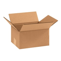 "Office Depot® Brand Corrugated Boxes, 9""L x 7""W x 5""H, Kraft, Pack Of 25"