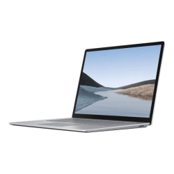 """Microsoft® Surface 3 Laptop, 15"""" Touch Screen, Ryzen 5, 16GB Memory, 256 GB Solid State Drive, Windows® 10 Home"""