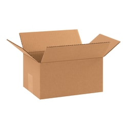 "Office Depot® Brand Corrugated Boxes, 10""L x 7""W x 5""H, Kraft, Pack Of 25"
