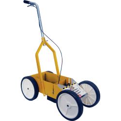 Rust-Oleum Athletic Field Striping Machine - Yellow - Steel