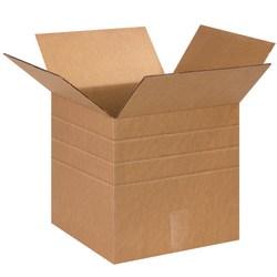 "Office Depot® Brand Multi-Depth Corrugated Cartons, 13"" x 13"" x 13"", Kraft, Pack Of 25"