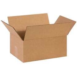 "Office Depot® Brand Corrugated Cartons, 14"" x 10"" x 6"", Kraft, Pack Of 25"